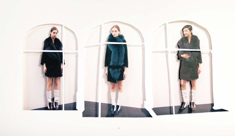 Prada Fantasy Lookbook Fall 2011