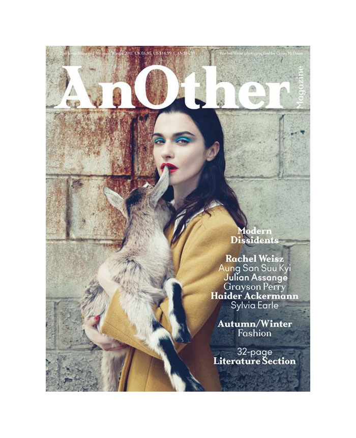 AnOther F/W 2011 Cover | Rachel Weisz by Craig McDean