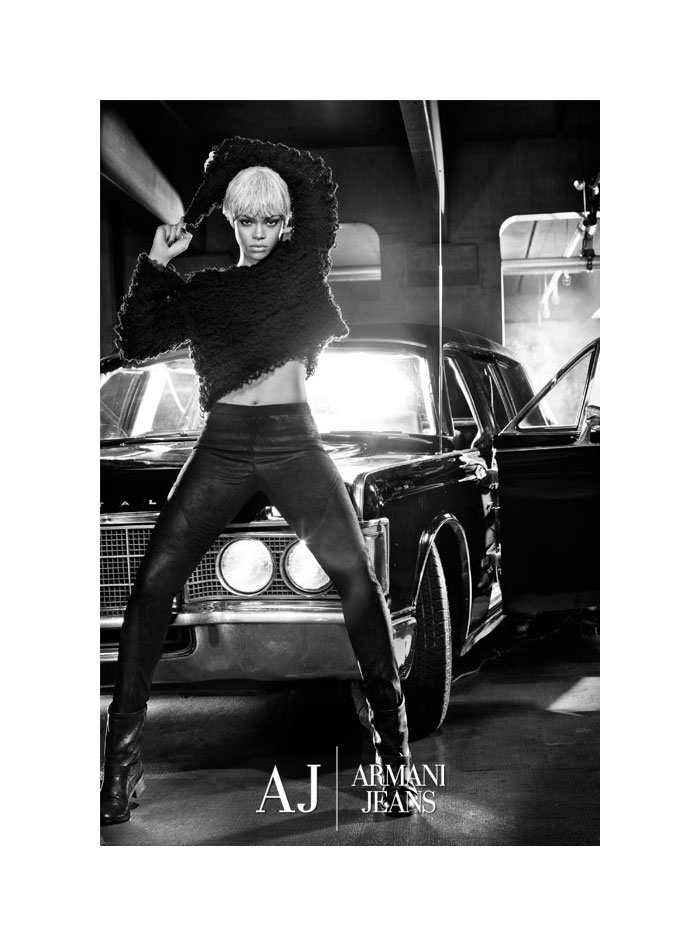 Rihanna for Armani Jeans Fall 2011 Campaign by Steven Klein