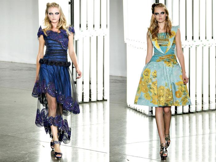 Rodarte Spring 2012 | New York Fashion Week