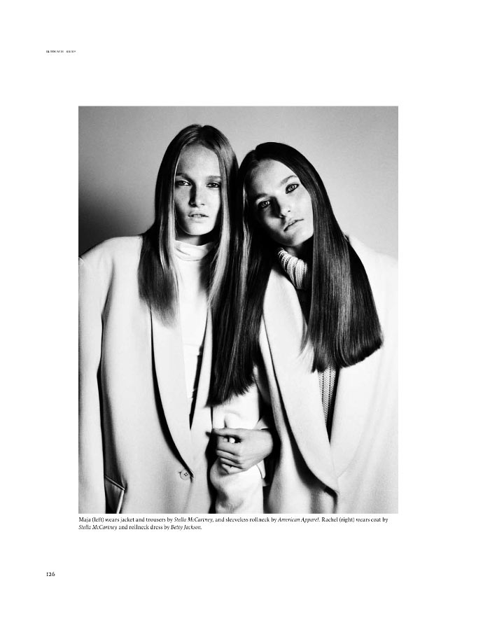 Twin Sets by Mark Kean for Sleek Magazine