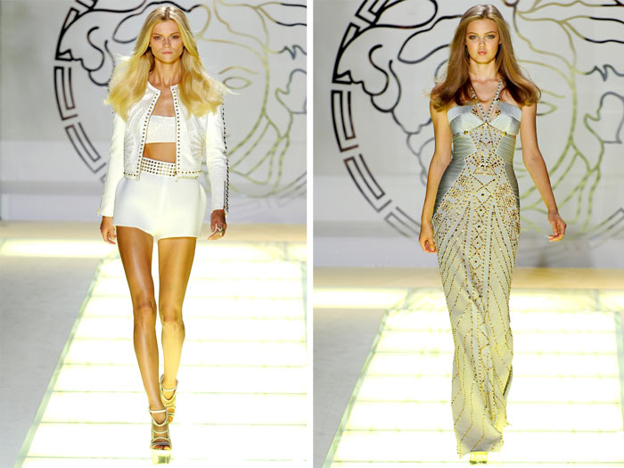 Versace Spring 2012 | Milan Fashion Week