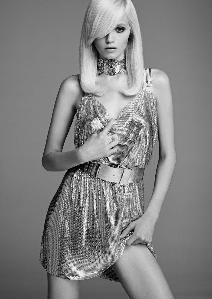 Abbey Lee Kershaw for Versace for H&M Lookbook by Kacper Kasprzyk