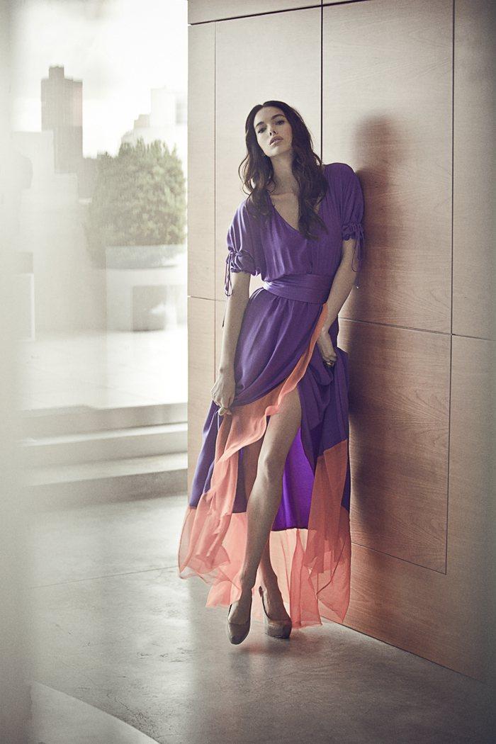 Simone Kerr for Victorine Spring 2012 Lookbook by Justin Hollar