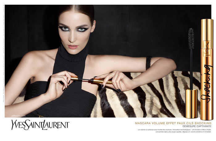 Zuzanna Bijoch for YSL Beauty Fall 2011 Campaign by Terry Richardson