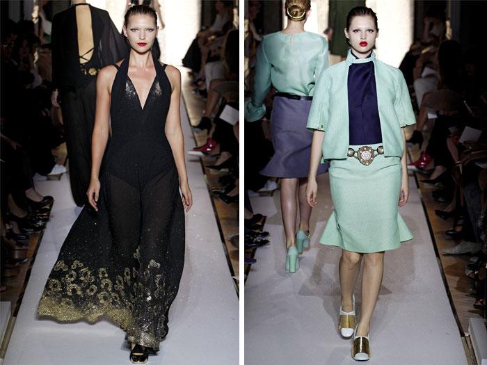 Yves Saint Laurent Spring 2012 | Paris Fashion Week