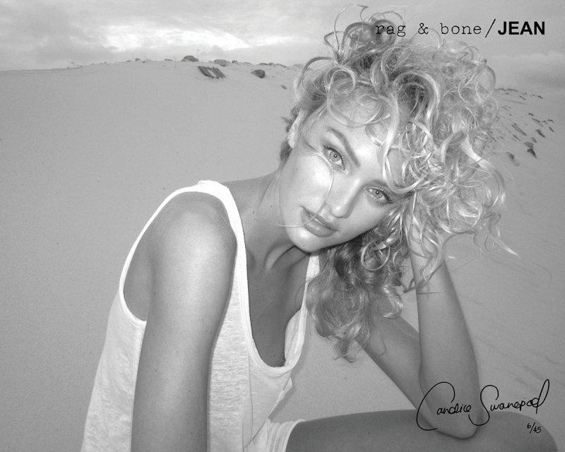 Candice Swanepoel for Rag & Bone Fall 2011 Campaign