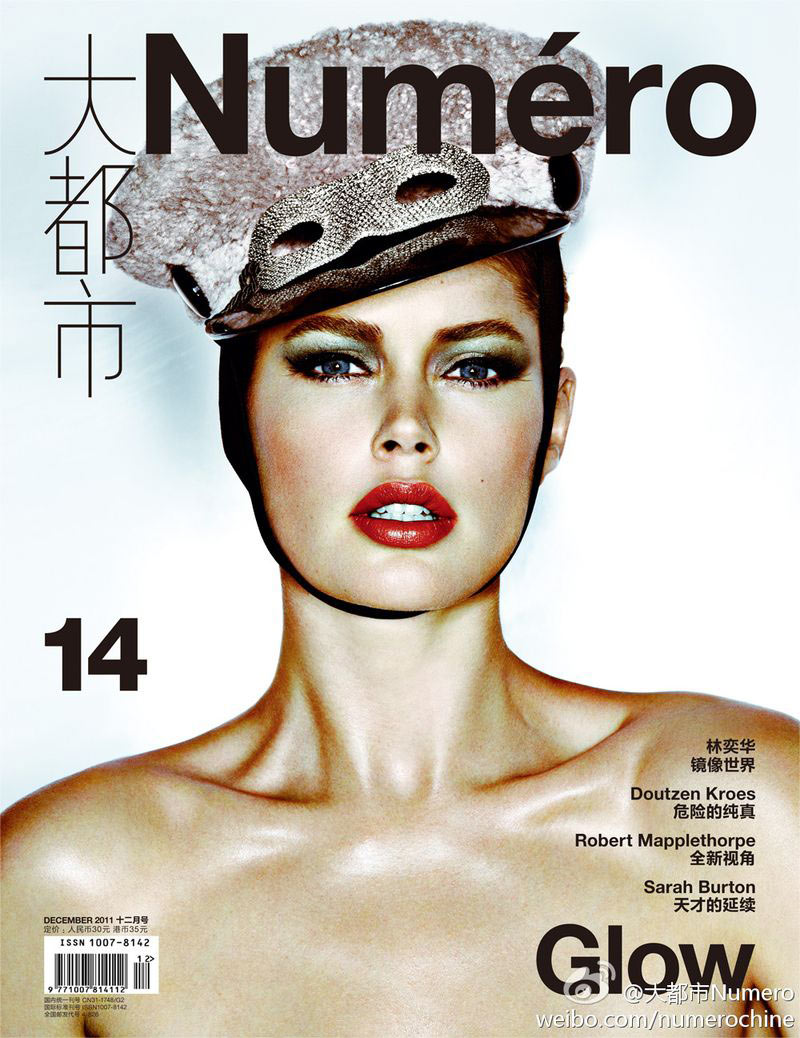 Doutzen Kroes Covers Numéro China December 2011 in Louis Vuitton