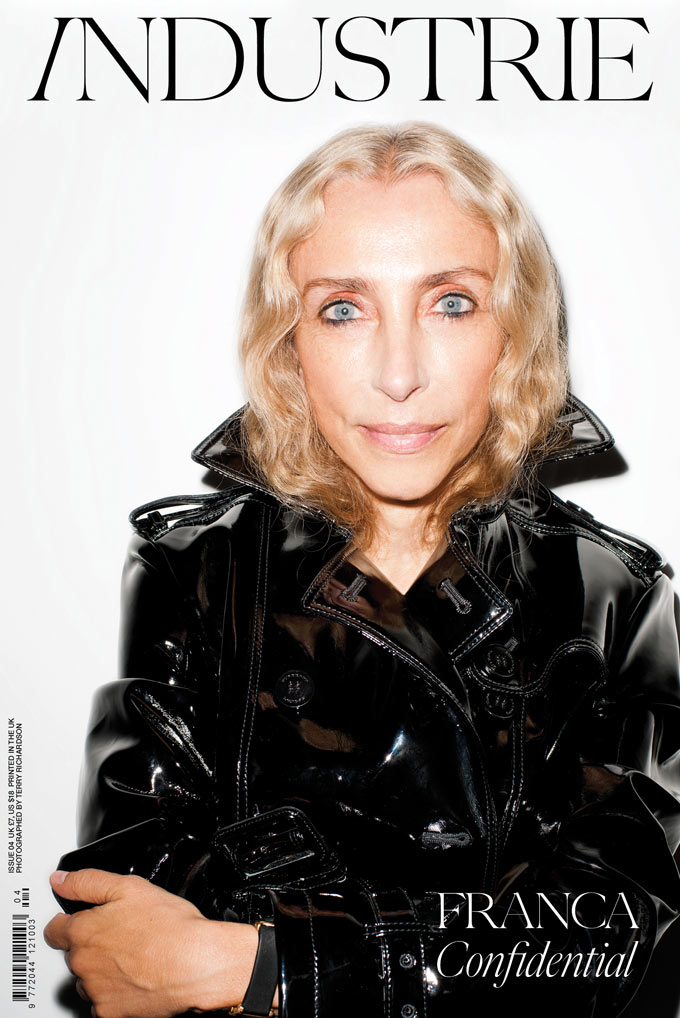 Industrie #4 Cover | Franca Sozzani by Terry Richardson