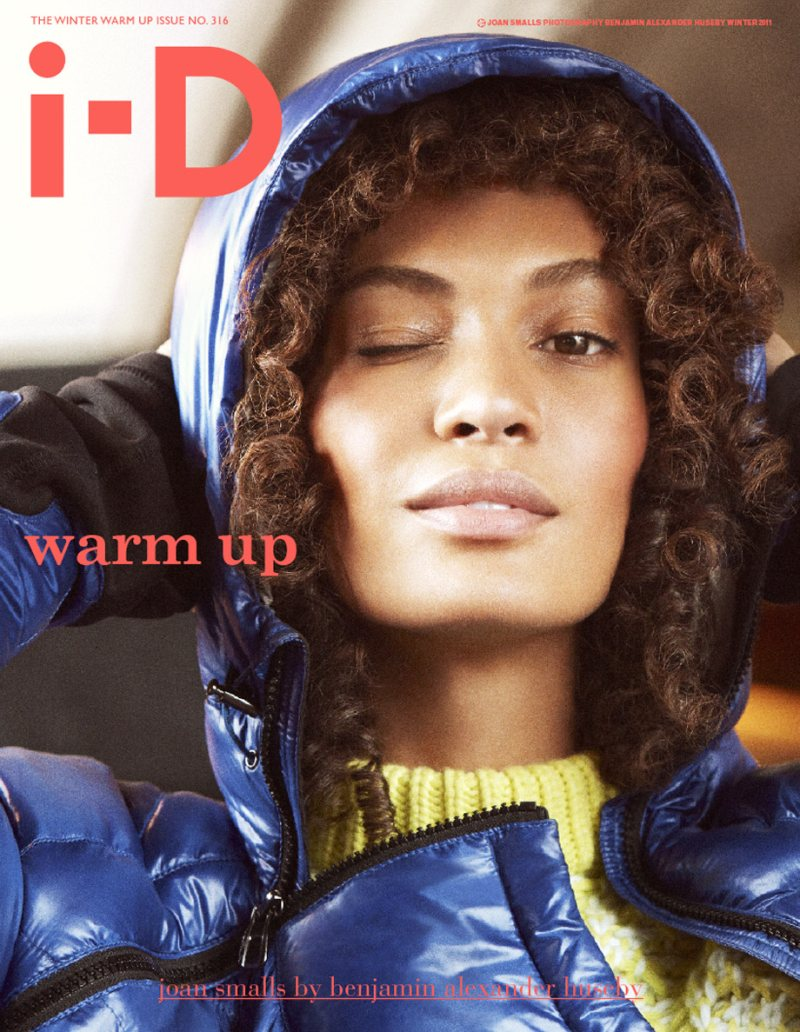 Joan Smalls & Benjamin Eidem Cover i-D Winter 2011