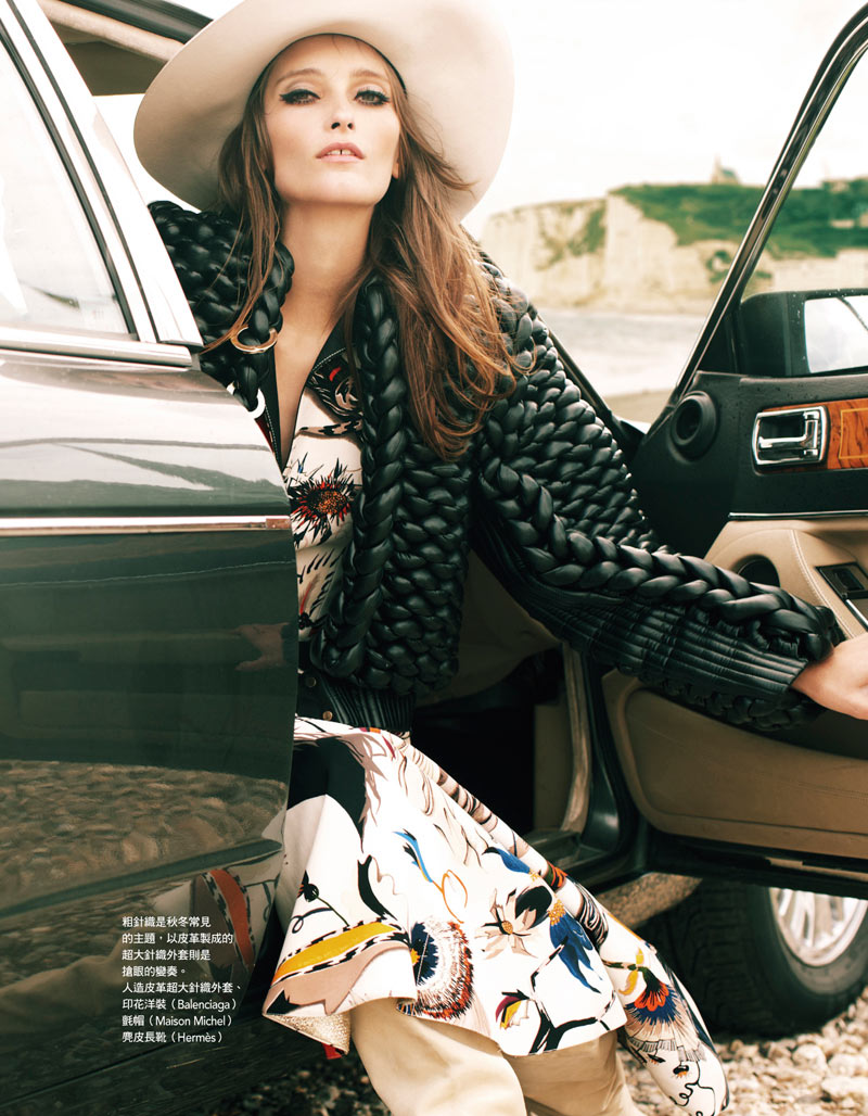Iekeliene Stange by Naomi Yang for Vogue Taiwan