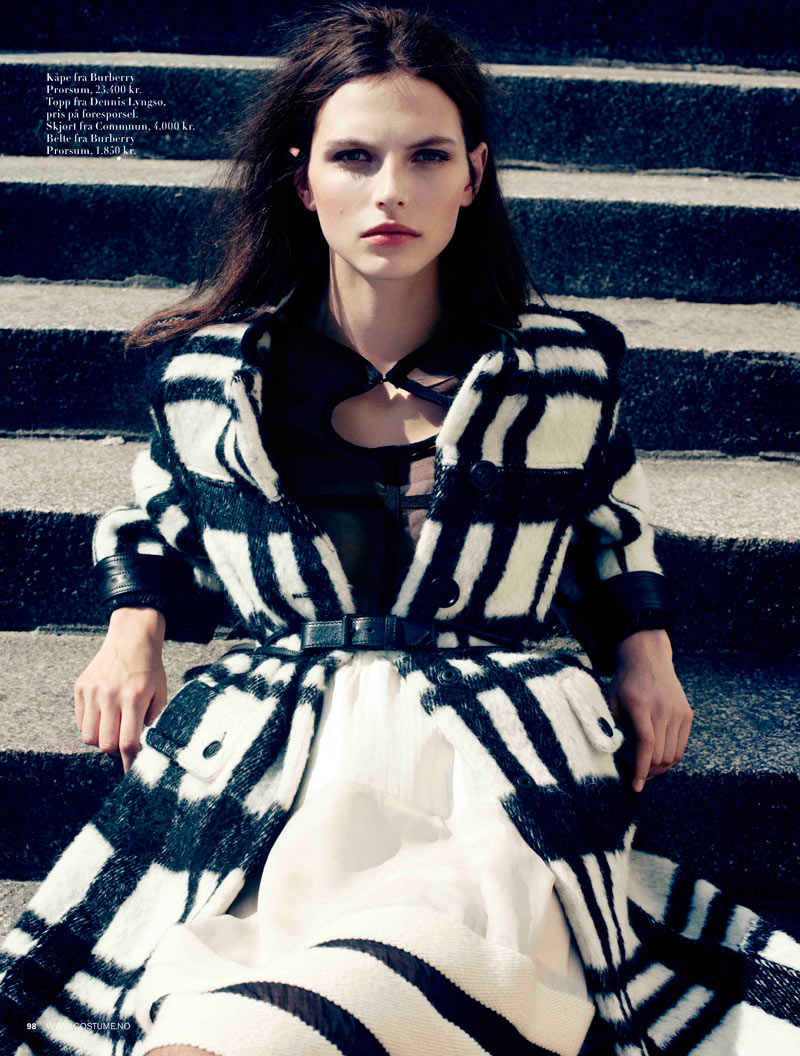 Karlina Caune by Jørgen Gomnæs for Costume Norway December 2011