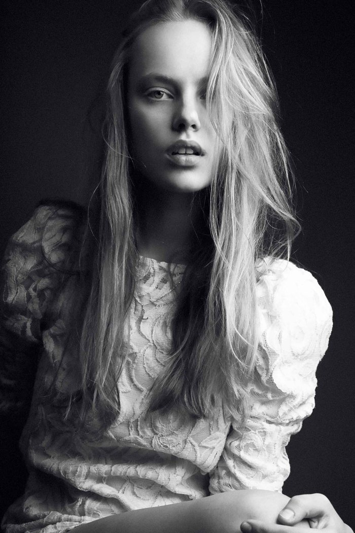 Fresh Face | Luize Salmgrieze by Djamel Boucly