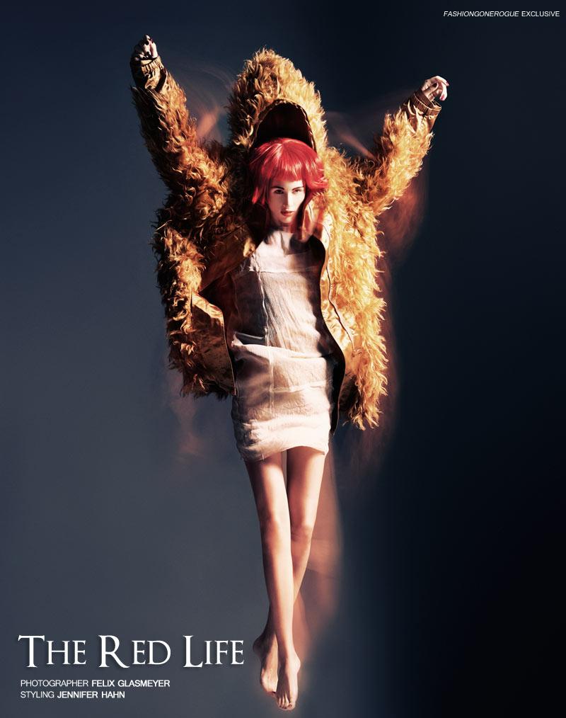 Nastya Kadryanu by Felix Glasmeyer for Fashion Gone Rogue
