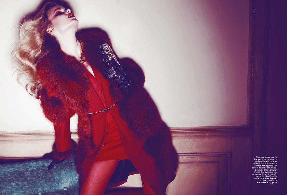 Karolina Mrozkova by Alvaro Beamud Cortes for S Moda