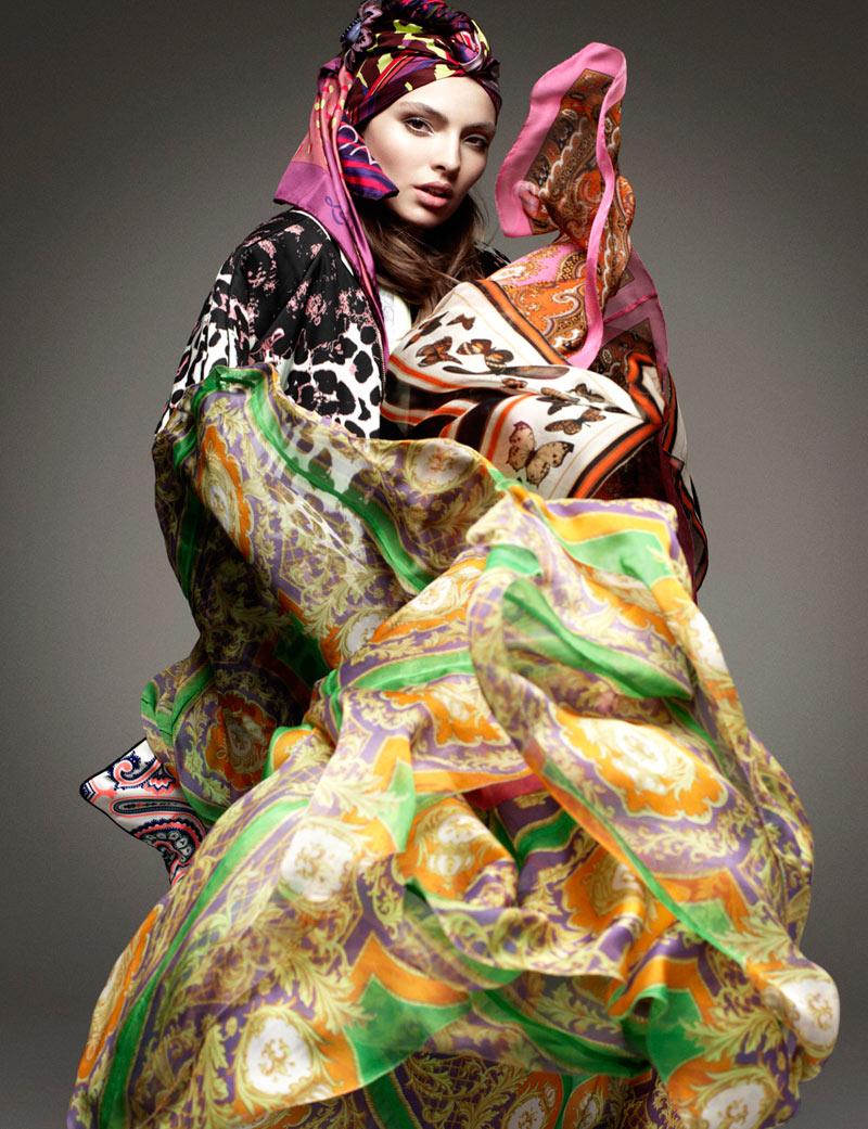 Carola Remer by Greg Kadel for Vogue Germany January 2012