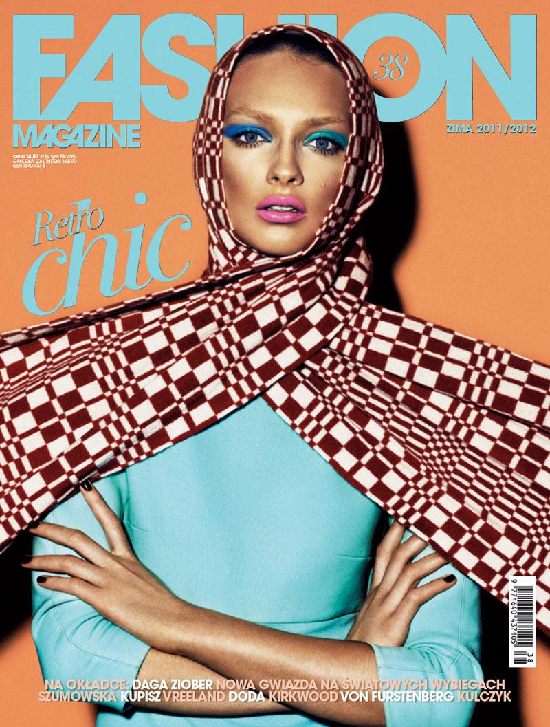 Fashion Poland #38 Winter 2011 Cover | Daga Ziober by Mateusz Stankiewicz