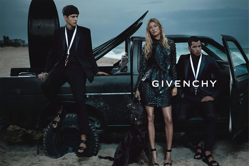 Gisele Bundchen for Givenchy Spring 2012 Campaign by Mert & Marcus