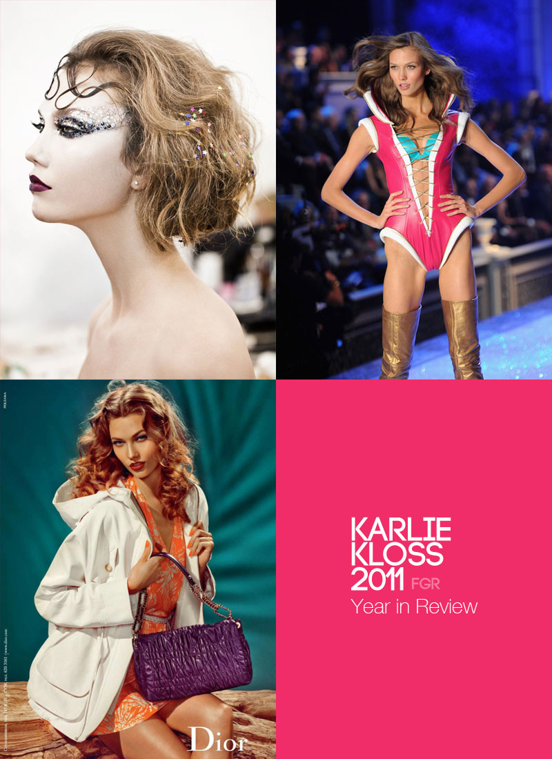 12 visions of Karlie Kloss from 2011