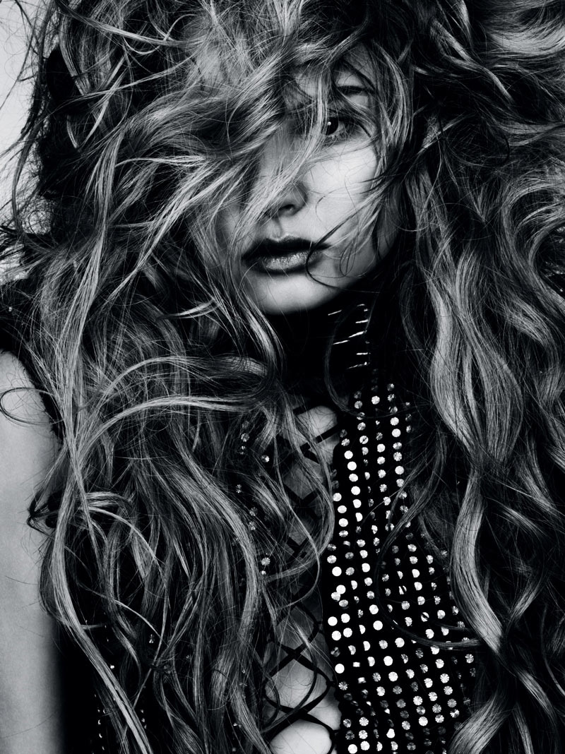 Magdalena Frackowiak by Ben Hassett for Vogue Germany
