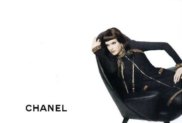 Chanel Pre-Fall 2010 Campaign Preview | Mirte Maas by Karl Lagerfeld