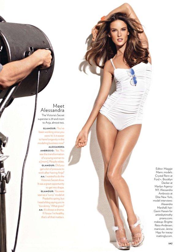 Alessandra, Crystal & Brooklyn for Glamour June 2010 by Matthias Vriens-McGrath
