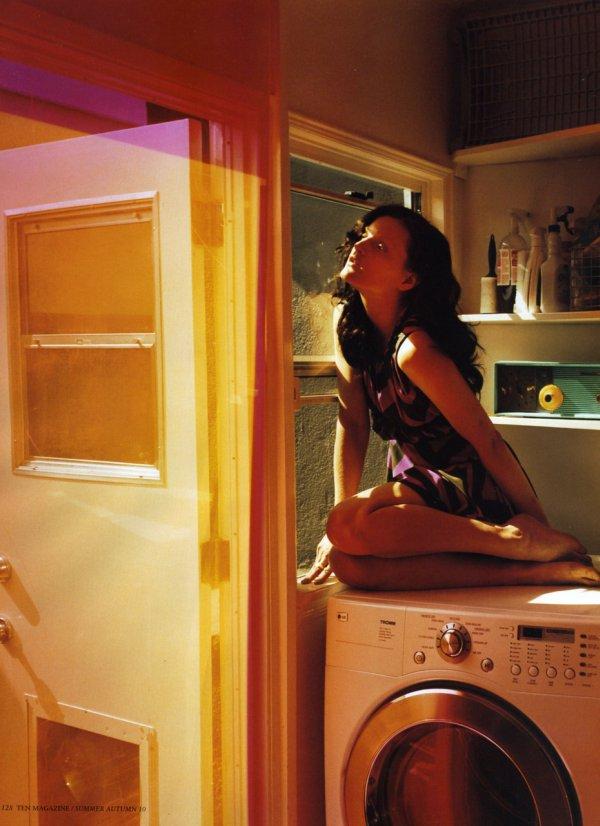 Guinevere van Seenus by Tierney Gearon for Ten Magazine Summer 2010