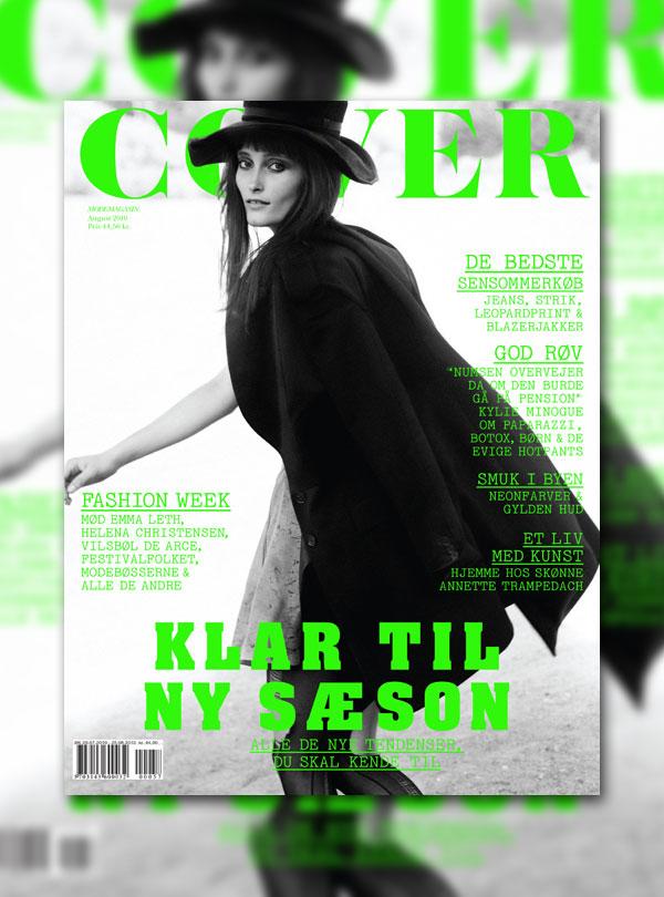 Cover Magazine August 2010 Cover | Iekeliene Stange