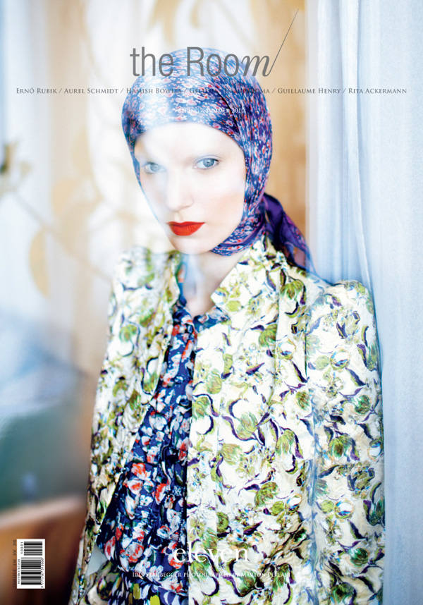 The Room Spring 2010 Cover | Iris Strubegger by Marton Perlaki