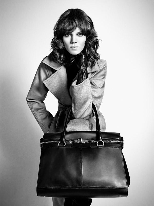 MaxMara Fall 2010 Campaign Preview | Freja Beha Erichsen by Mario Sorrenti