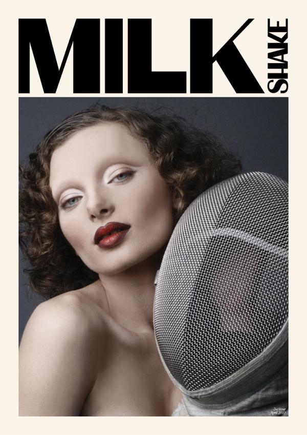 Milkshake Magazine #2 April 2010 Cover | Kristen Buhagiar by Matthew Attard Navarro