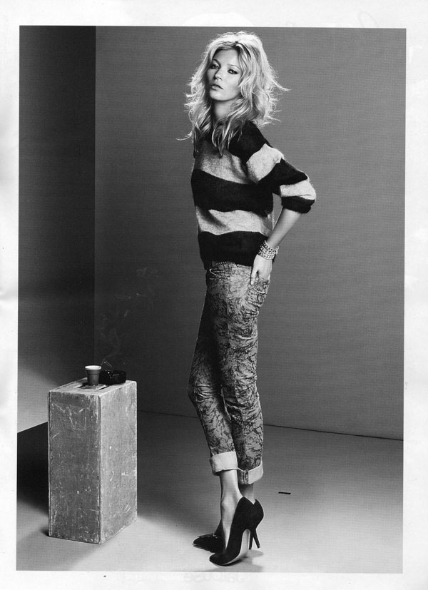 Isabel Marant Fall 2010 Campaign Preview   Kate Moss