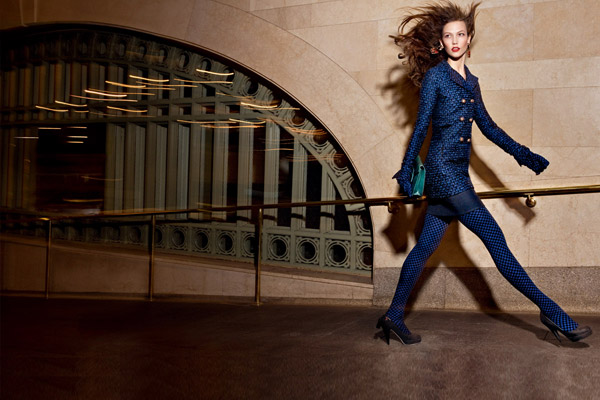 Oscar de la Renta Fall 2010 Campaign Preview | Karlie Kloss by Craig McDean