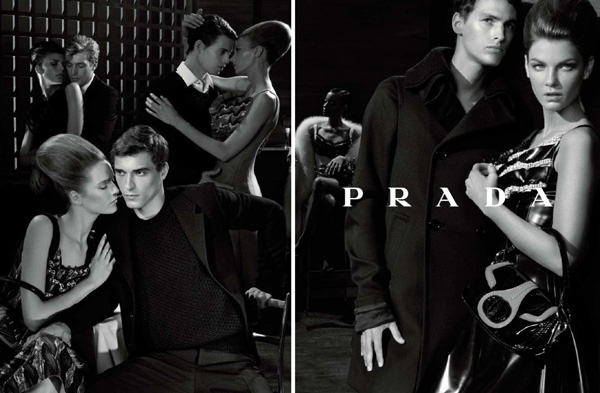 Prada Fall 2010 Campaign Preview | Angela Lindvall by Steven Meisel