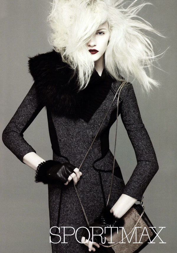 Sportmax Fall 2010 Campaign Preview | Ginta Lapina by David Sims