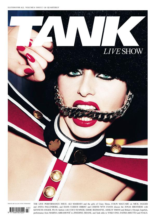Tank Summer 2010 Cover by Ellen von Unwerth