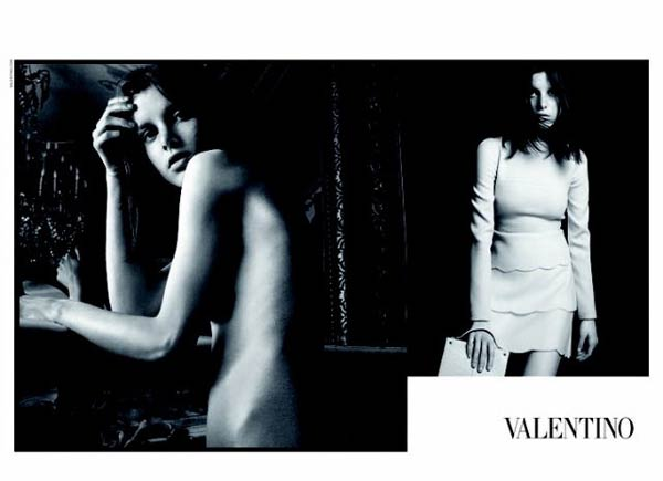 Valentino Fall 2010 Campaign Preview | Tati Cotliar by David Sims