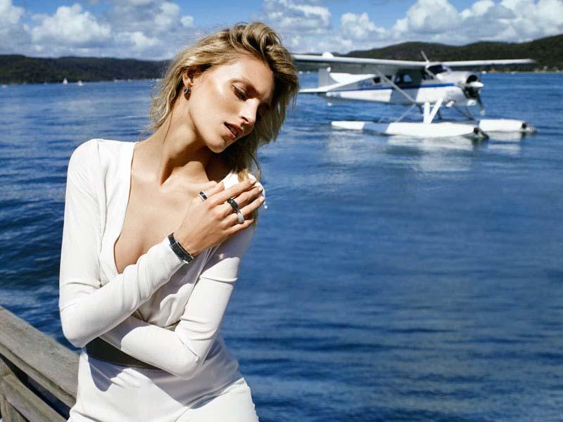 Anja Rubik for Apart Jewelry 2011 by Marcin Tyszka