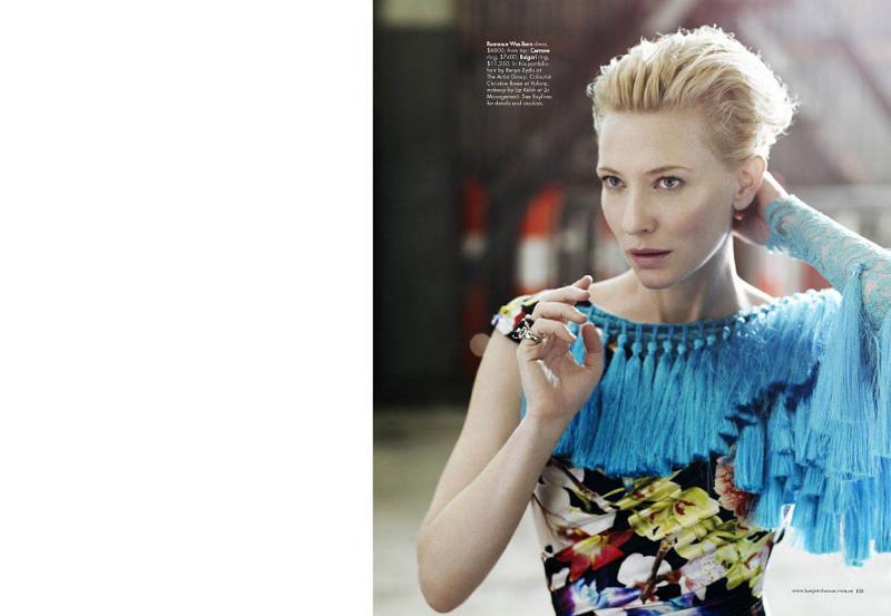 Cate Blanchett for Harper's Bazaar Australia May 2011 by Will Davidson