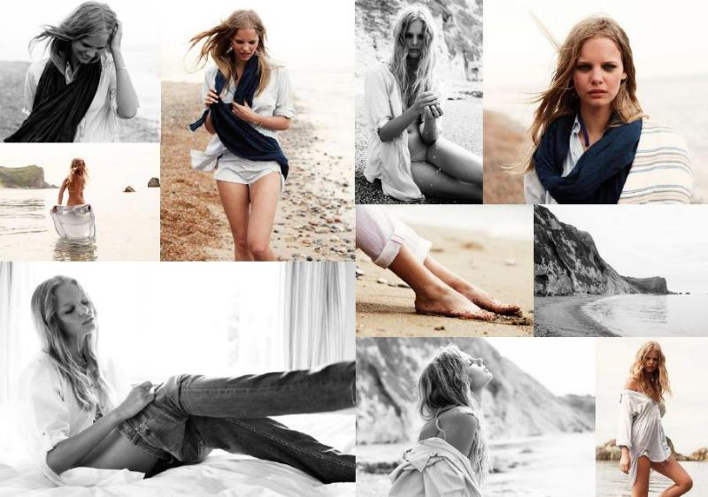 Marloes Horst for MiH Jeans Spring 2011 Campaign by Magnus Klackenstam