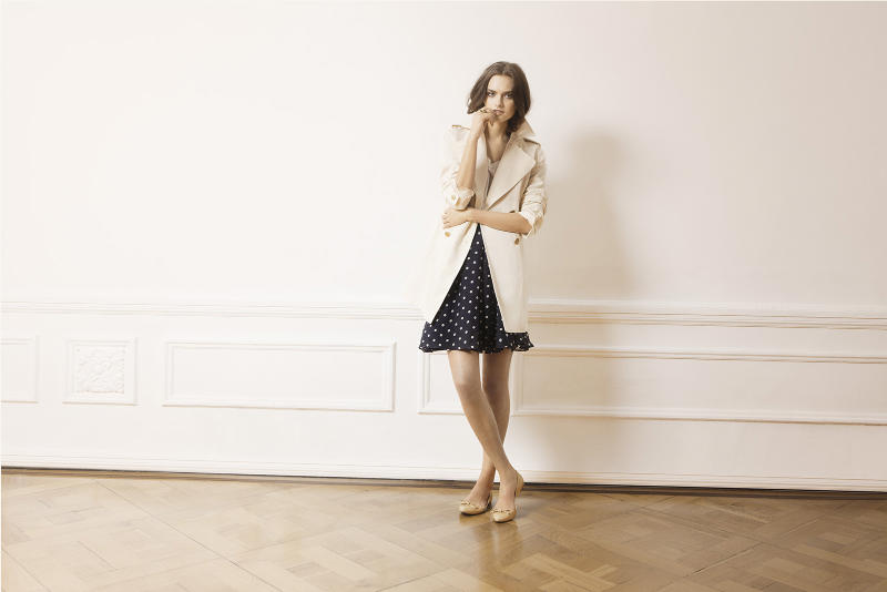 Massimo Dutti April 2011 Lookbook | Zuzana Gregorova by Gemma Edo