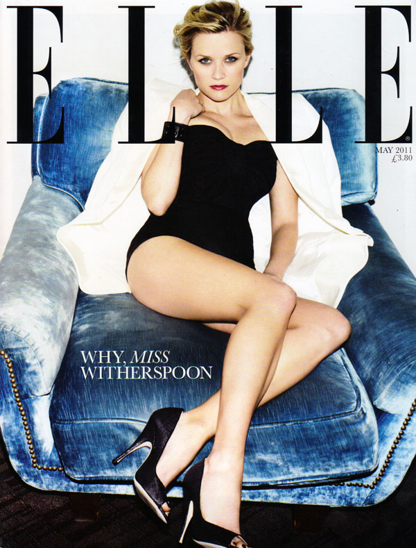 Elle UK May 2011 Cover | Reese Witherspoon by Ben Hassett
