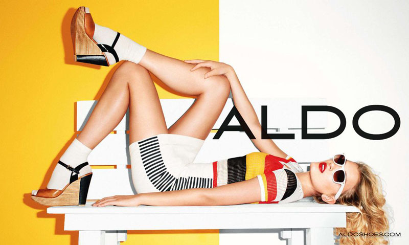 Lily Donaldson for Aldo Spring 2011 Campaign by Terry Richardson