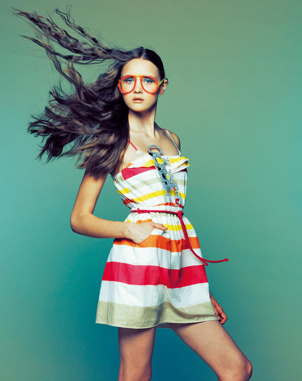 Bershka April 2011 Lookbook by Sergi Jasanada