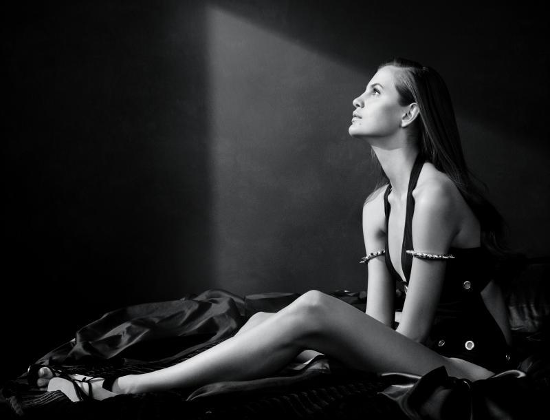 Regina Feoktistova by David Slijper for Marie Claire Italia April 2011