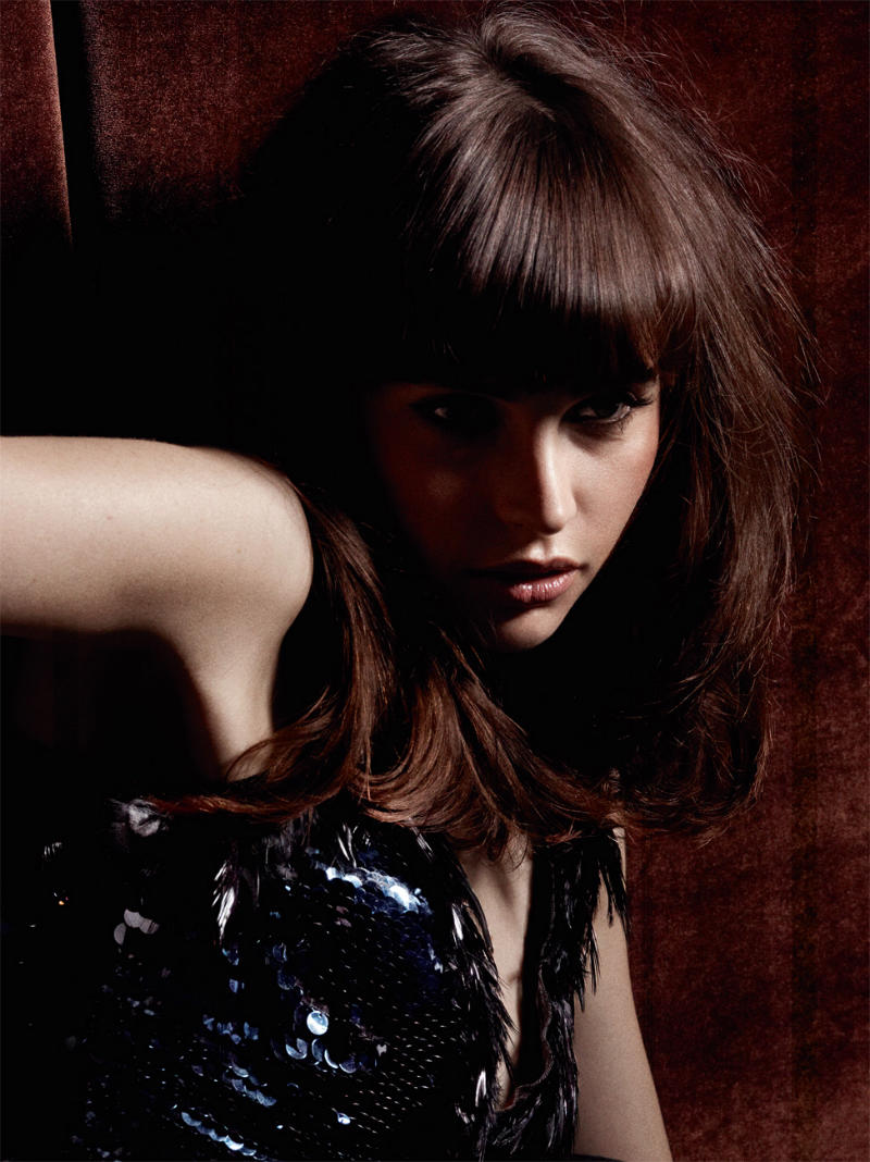 Felicity Jones for Interview April 2011 by Craig McDean