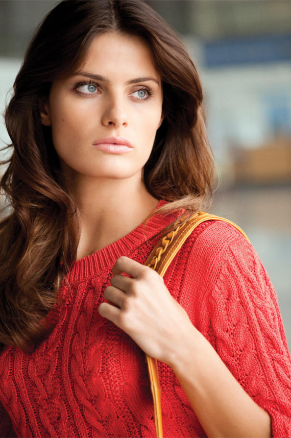 Isabeli Fontana for Mango Spring 2011 by Terry Richardson