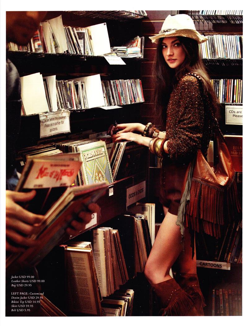 Jacquelyn Jablonski by Alexi Lubomirski for H&M Magazine Spring 2011