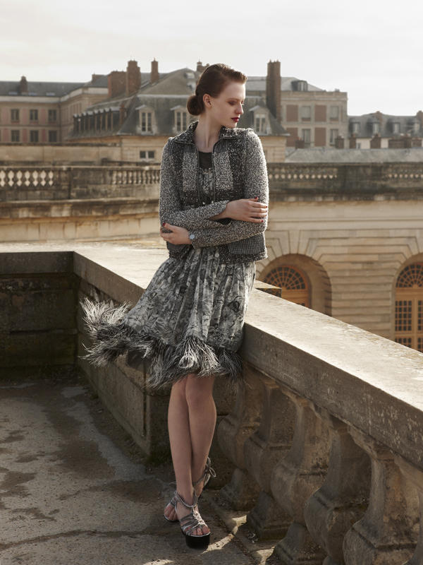 Anastasia Kuznetsova by Wee Khim in Chanel for Nuyou April 2011