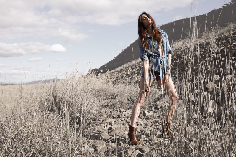 Something Else Spring 2011 Campaign | Olivia Stalin by Pierre Toussaint